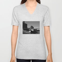 Old Port Montreal Unisex V-Neck