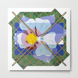 Altered State Flower: CO Metal Print
