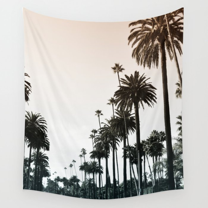 Los Angeles Wall Tapestry