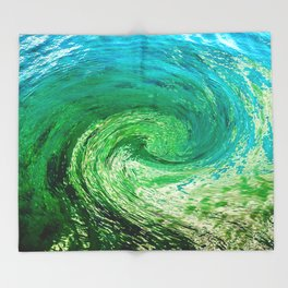 Abstract 64 Throw Blanket