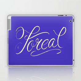 Foreal (Hip Hop Calligraphy I) Laptop & iPad Skin