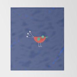 Birdie-6 Throw Blanket