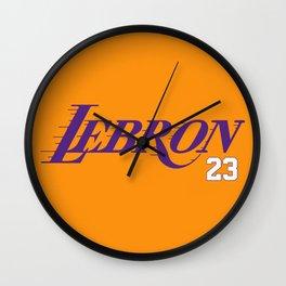 LEBRON Wall Clock