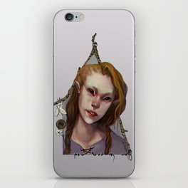 Hedge Witch 1 iPhone Skin