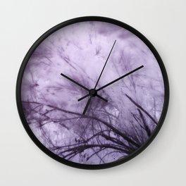 Infrared Landscape, Purple Breeze Wall Clock