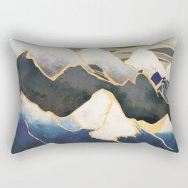 Ice Mountains Rectangular Pillow