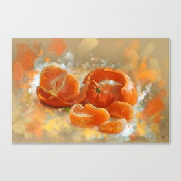 clementines4 Canvas Print
