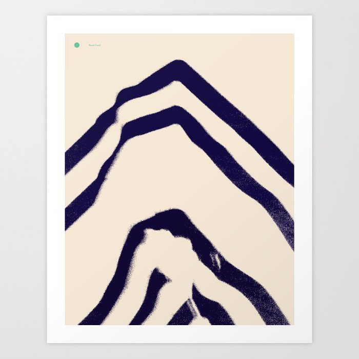Beast Coast — Matthew Korbel-Bowers Art Print