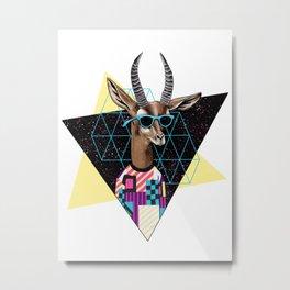 Teen Line Metal Print