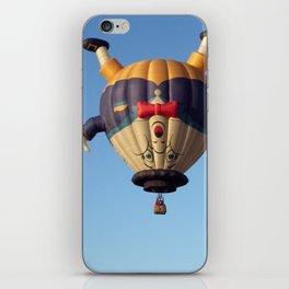 Humpty Dumpty Hot Air Balloon iPhone Skin