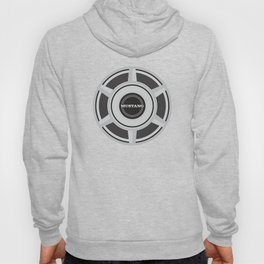 1965 Mustang Wheel Cover T-Shirt Hoody
