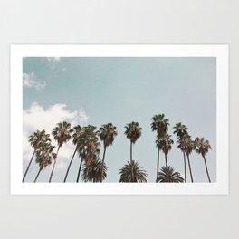 Los Angeles Daze Art Print