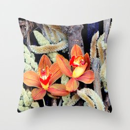 Gone To Seeds Throw Pillow