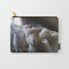 Sheep Looking at Camera Carry-All Pouch