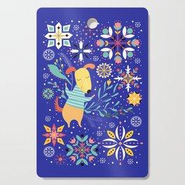 Happy Dog Year Cutting Board