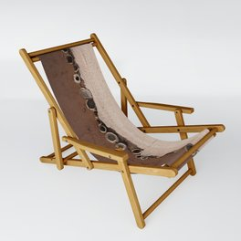 rotated rustic roof Sling Chair