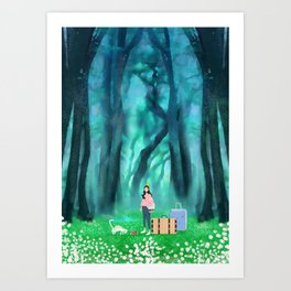 Hometown memories Art Print