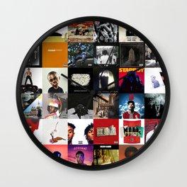 HIP-HOP ALBUM COVER Wall Clock
