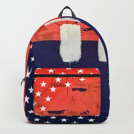 Stitch in Time - star graphic Backpack
