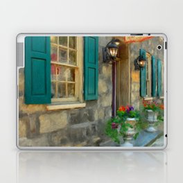 A Victorian Tea Room Laptop & iPad Skin