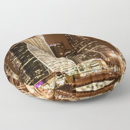 Moscow city Floor Pillow
