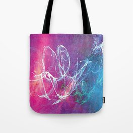 Colorful Sketchy Squiggle Tote Bag