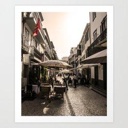 Madeira Street Art Print
