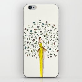 Paris Summer   The Flower Girl iPhone Skin