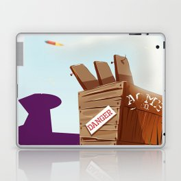 acme rocket crate Laptop & iPad Skin