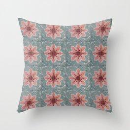 Tile Pattern Mexico I Throw Pillow