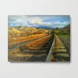 Tehachapi Loop, Tehachapi, CA Metal Print
