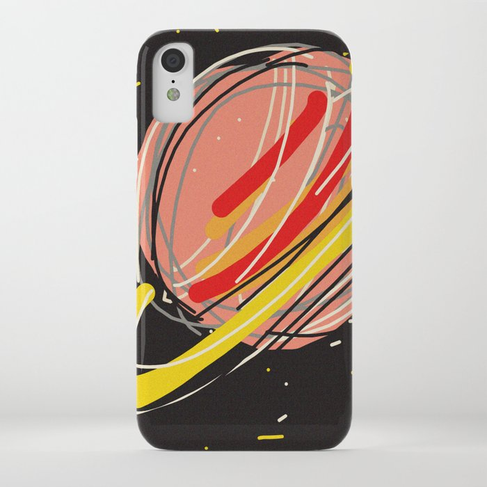 saturn iphone case by rimadi society6. Black Bedroom Furniture Sets. Home Design Ideas
