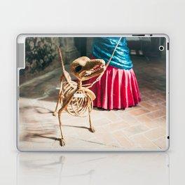 Skeleton dog Laptop & iPad Skin