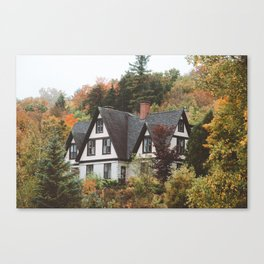Fall Notchland Inn Canvas Print