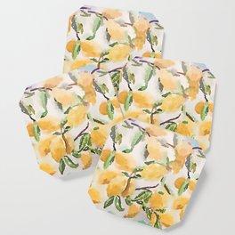 Watercolor Lemons Coaster