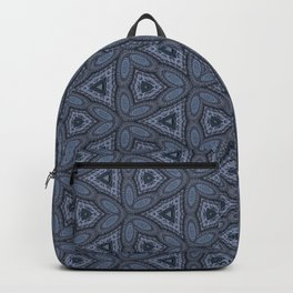 Triangle Blue Backpack