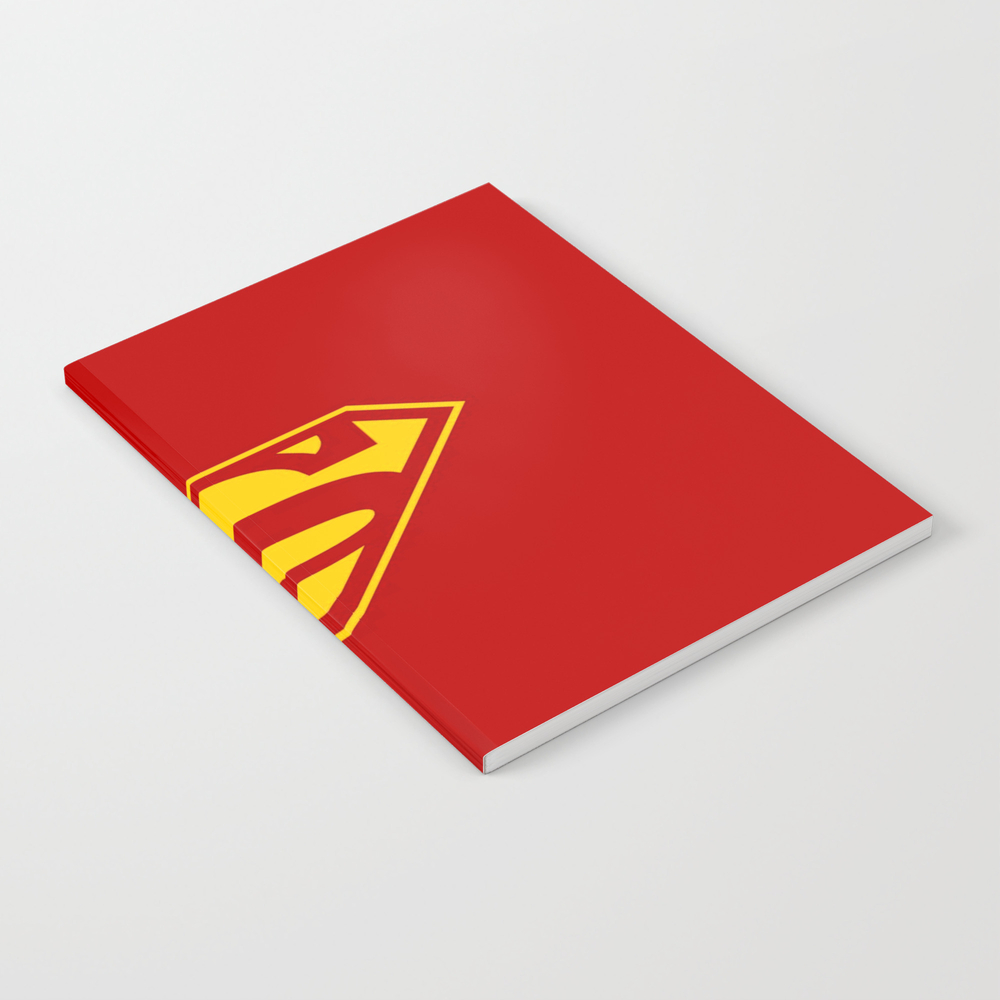 Superman Logo Notebook by Rama6699 NBK9018909