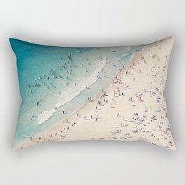 beach love V Rectangular Pillow