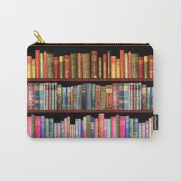Antique books ft Jane Austen & more Carry-All Pouch
