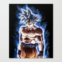 Goku ultra instinct - Selfish doctrine Canvas Print
