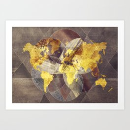 World map art prints society6 gumiabroncs Gallery