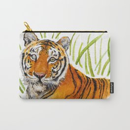Zeus Tiger Bright Eyes Carry-All Pouch