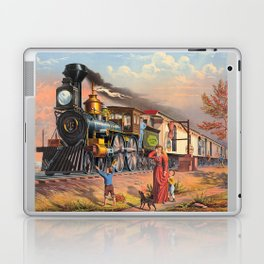 The Fast Mail,  1875 Laptop & iPad Skin