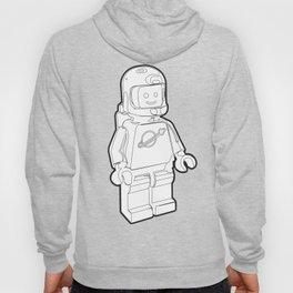 Vintage Spaceman Wireframe Minifig Hoody