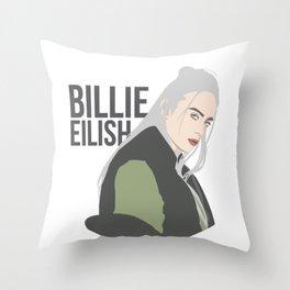 Billie Eilish Throw Pillow