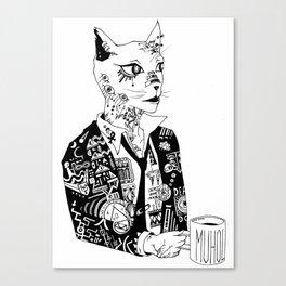 Catstatin Canvas Print