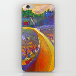The Road to Chateau Chantal iPhone Skin