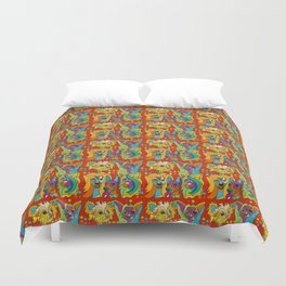 In Living Color Duvet Cover
