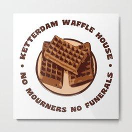 Ketterdam Waffle House Metal Print