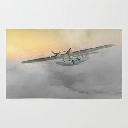"""""""Flying boat"""" Rug"""